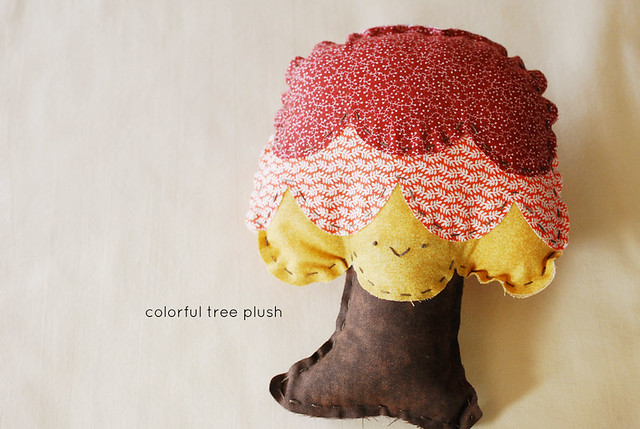 Colorful Tree Plush