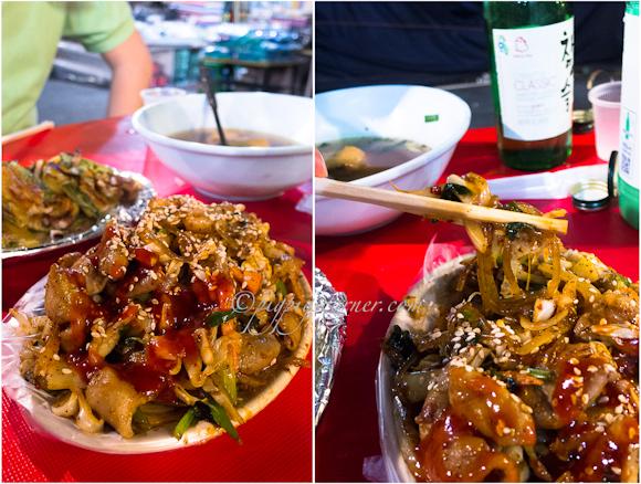 Namdaemun market-street food-gopchang