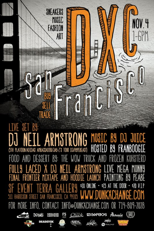 The SF DXC - Nov 4th from 1-6 pm