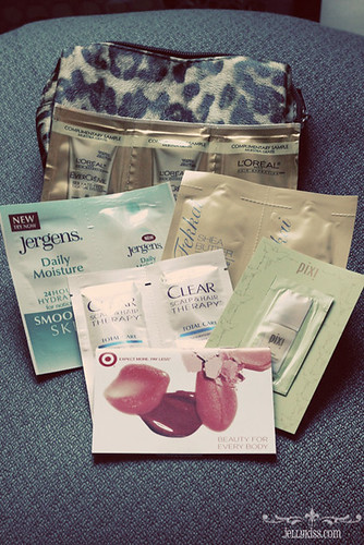 Contents of Target Fall Beauty Bag 2012