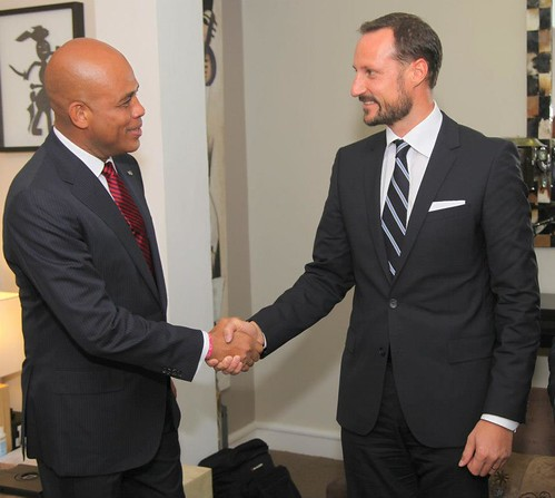 UNDP Goodwill Ambassador, HRH Crown Prince Haakon of Norway visits Haiti
