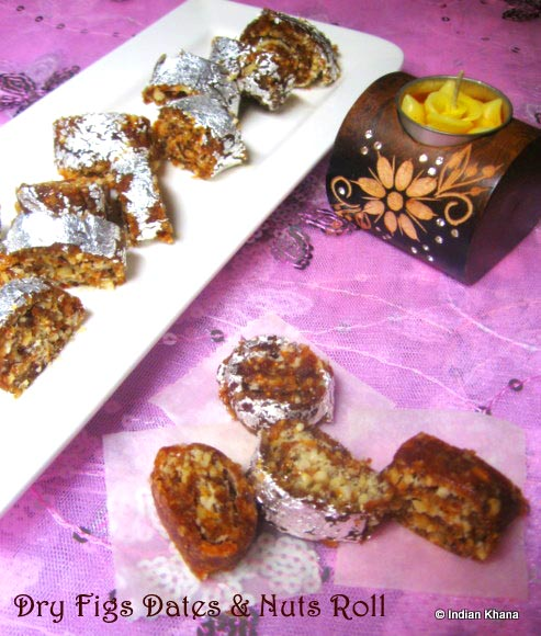 Dry Fruits Figs Roll