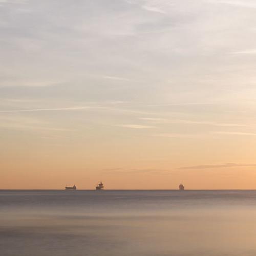 morning sea beach dawn bulgaria blacksea freighter varna freightship canon50mmf14usm chernomore canoneos7d