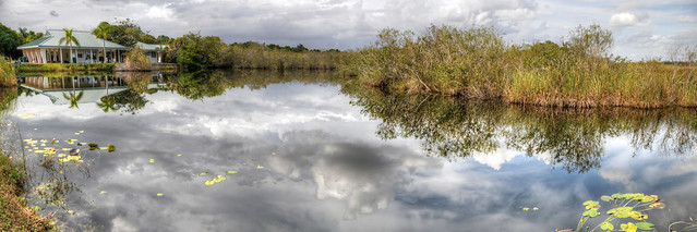 Everglades National Park, Royal Palm HDR Panorama