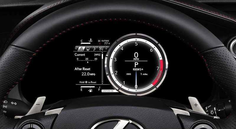 2014 Lexus IS DASH