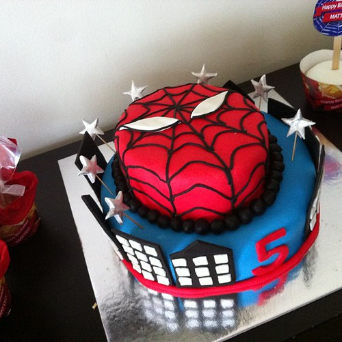 #spidermancake happy birthday Matteo!!!:) by l'atelier de ronitte