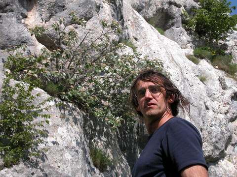 Climbing in Frosolone