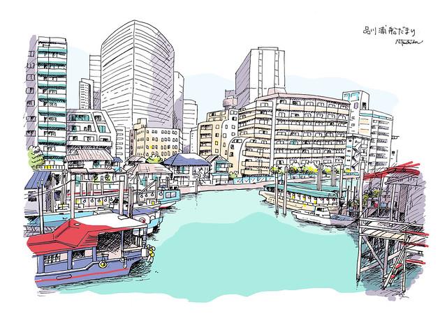 品川浦船だまり Shinagawa Waterfront and Boats