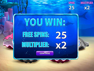 free Great Blue free spins feature