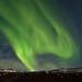 Aurora borealis in Faskrudsfjordur by *Jonina*