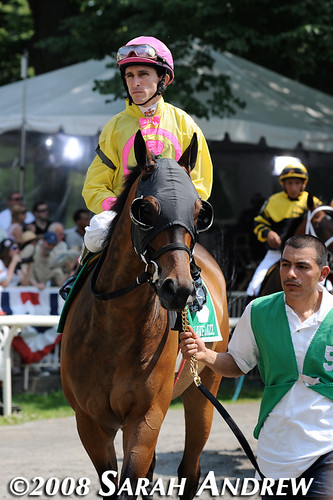 Suave Jazz and Ramon Dominguez before the 2008 True North H.