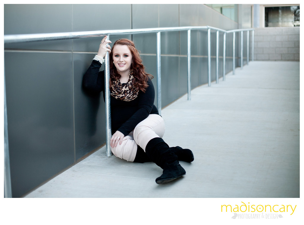 urban midland texas high school senior photography