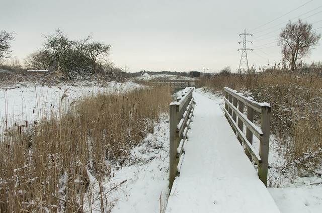 Snowy boardwalk Wat Tyler-2