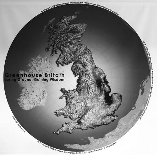 《溫 室 英 國 ─ 失 去 土 地,獲 得 智 慧 》是 以 英 國 本 島 為 整 體 範 圍,針 對 氣 候 變 遷 影 響 及 因 應 所做的一項大型計劃。