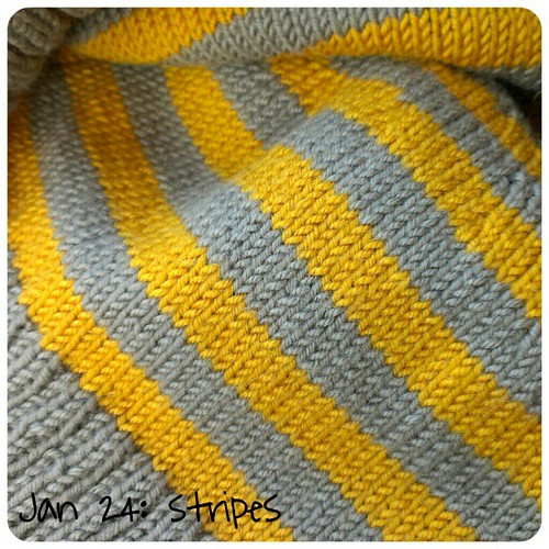 Jan 24: stripes .. my #hat .. #fmsphotoaday