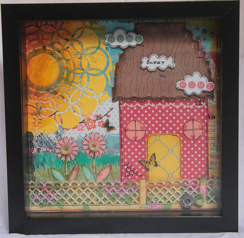 """Home Sweet Home"" Shadow Box"