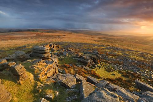 sunset sky clouds landscape photography rocks imac geology
