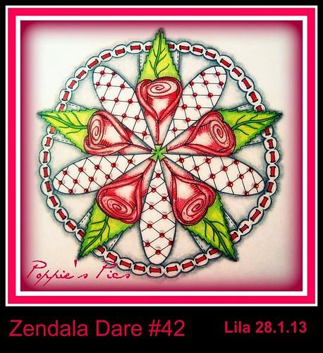 A Valentine's Zendala by Poppie_60