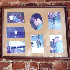 Shrine to the day that John Travolta visited the Edelweiss Restaurant, home to 44 types of omelets.