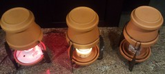 3 candle warmers