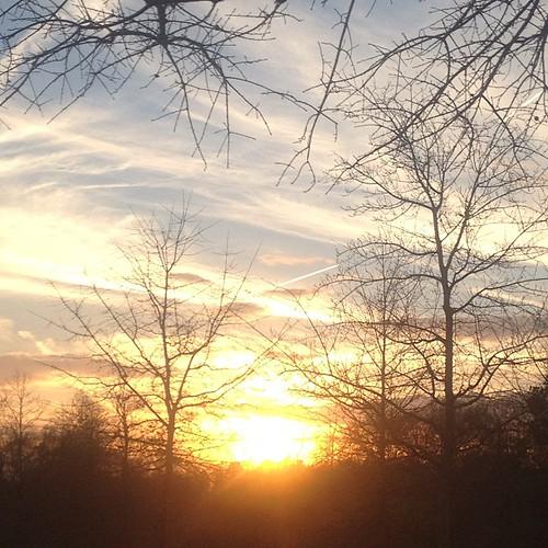 Auburn sunset