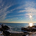 Portland Head Light in Snow Panorama 2--EXPLORED! by Cindy Farr-Weinfeld