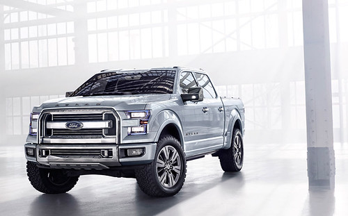 Ford Atlas: Concepto de Pick Up Poderoso