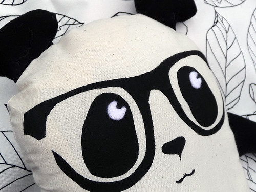 Homemade Toy Panda Plush