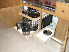 pull-out kitchen drawers