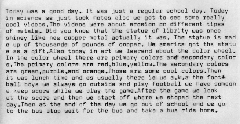 A School Day001