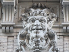Satyr Gargoyles - The Ansonia Apartment Building 3835