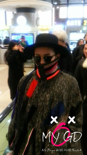 Big Bang - Gimpo Airport - 15jan2015 - G-Dragon - OMYGD_HK - 01