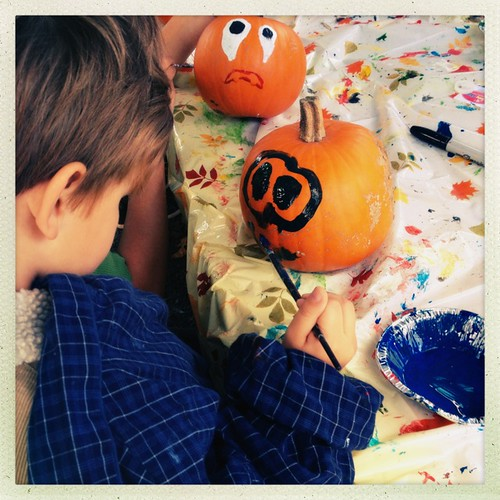Pumpkin painter