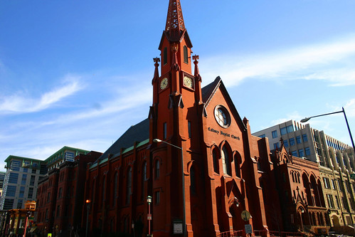 Calvary Baptist Church, Washington, DC (by: Elvert Barnes, creative commons)