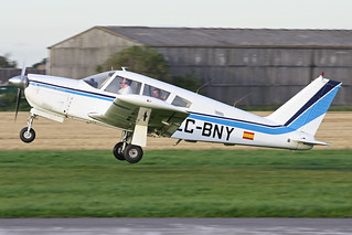 EC-BNY Lifting Off From Breighton