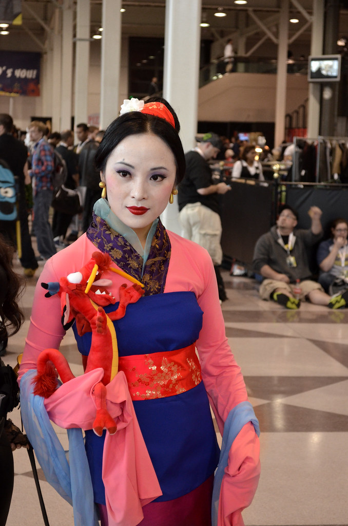 New York Comic Con 2012 Mulan Cosplay