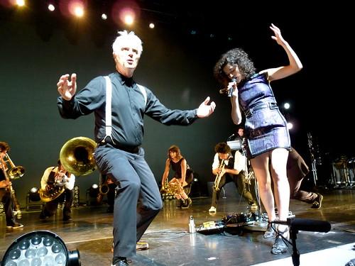 música,directo, David Byrne & St. Vincent