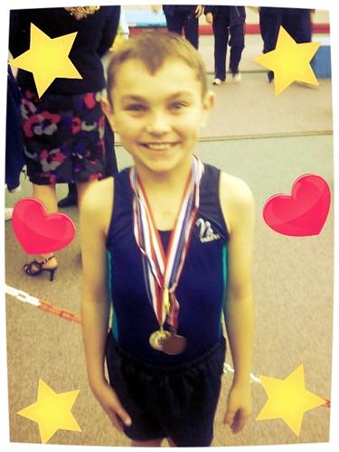 Danny medals