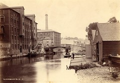 Norwich, Colman's mustard factory on the River Wensum, late 19th century