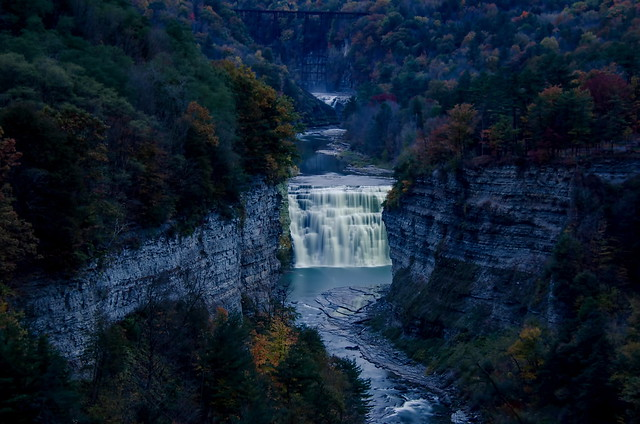 Middle Falls @ Letchworth State Park