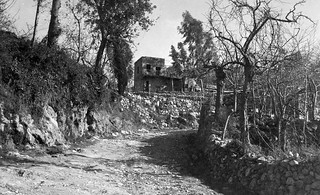 Early Jul 1942 - Old house near Ehden, Syria (later North Lebanon)