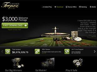 Casino Tropez Home