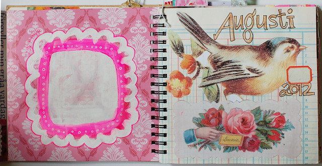 Smart Journal #2 Painted frame