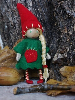 Garden gnome bendy doll---SOLD!