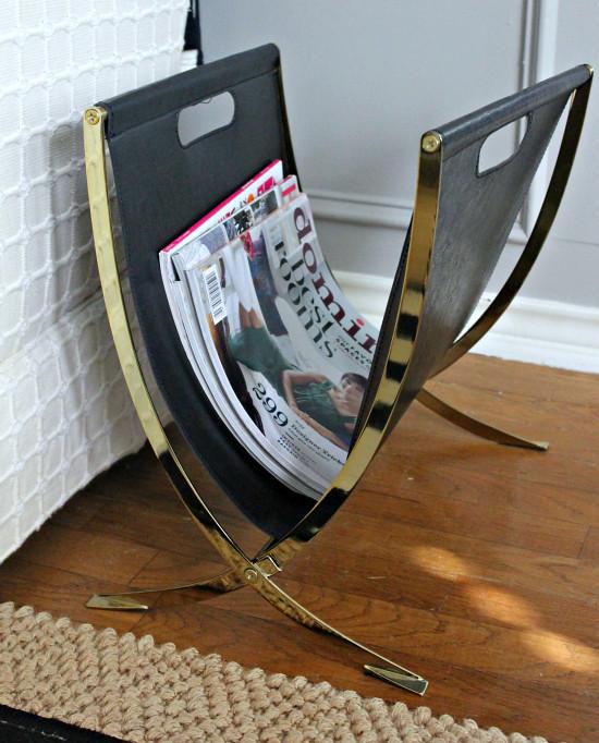 Target Gold Magazine Rack