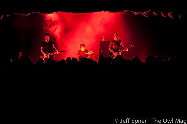 Raveonettes @ Bimbo's, SF 10/12/12 via www.theowlmag.com