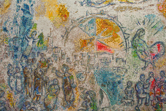 Who is chagall for Chagall mural chicago