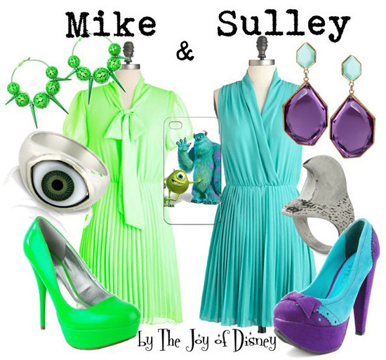 Mike & Sulley (Monsters Inc.)