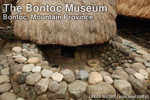 Native Pig Pen in The Bontoc Museum in Bontoc, Mountain Province