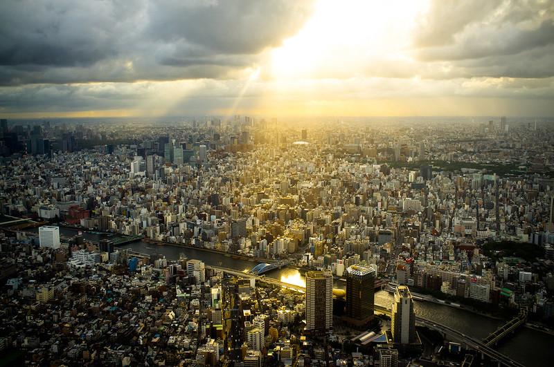 from 450 meters high #3 (Tokyo Skytree)